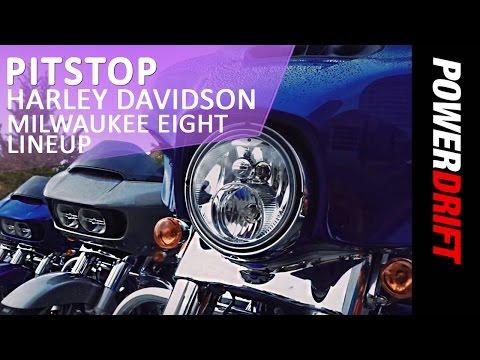 Pit Stop : 2017 Harley Davidson Milwaukee Eight Lineup : PowerDrift