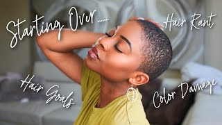 Baixar I SHAVED MY HAIR!! Starting Over...   Natural Hair Journey // EP. 2