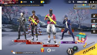 🔴Free Fire Live Stream sQuad Rank 🔴 India