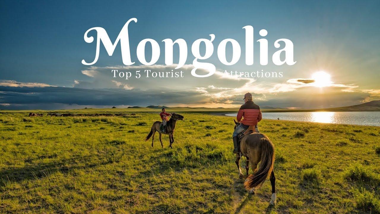5 Wonderfull Tourist Attractions - MONGOLIA Travel - YouTube