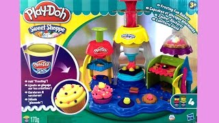 Play-Doh Frosting Fun Bakery Playset Make Play Doh Cupcakes Desserts Play Dough Treats Toy Videos