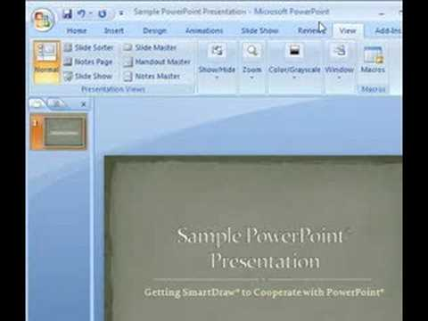 Using Smartdraw Diagrams In Microsoft Word And Powerpoint Youtube