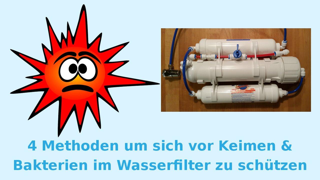 4 methoden um sich vor keimen und bakterien im wasserfilter zu sch tzen youtube. Black Bedroom Furniture Sets. Home Design Ideas