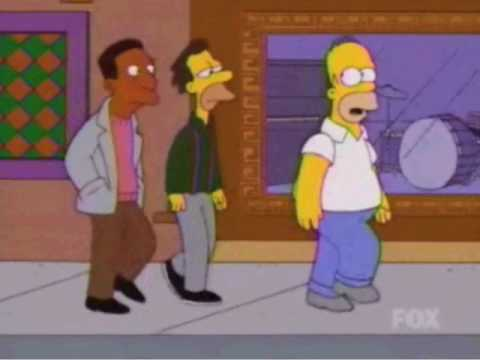 Ísland í The Simpsons