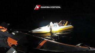 Более 90 мигрантов спасли в Эгейском море и доставили на остров Лесбос(Более 90 мигрантов спасла итальянская береговая охрана в восточной части Эгейского море в трех различных..., 2016-02-11T06:02:38.000Z)
