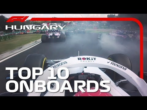 Team-mates Touch, Superb Starts And The Top 10 Onboards | 2019 Hungarian Grand Prix