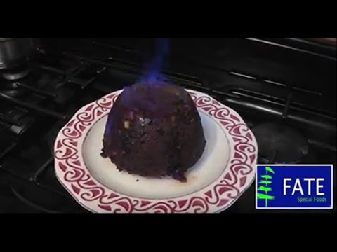 Fate Low Protein Flaming Christmas Pudding With Brandy Butter