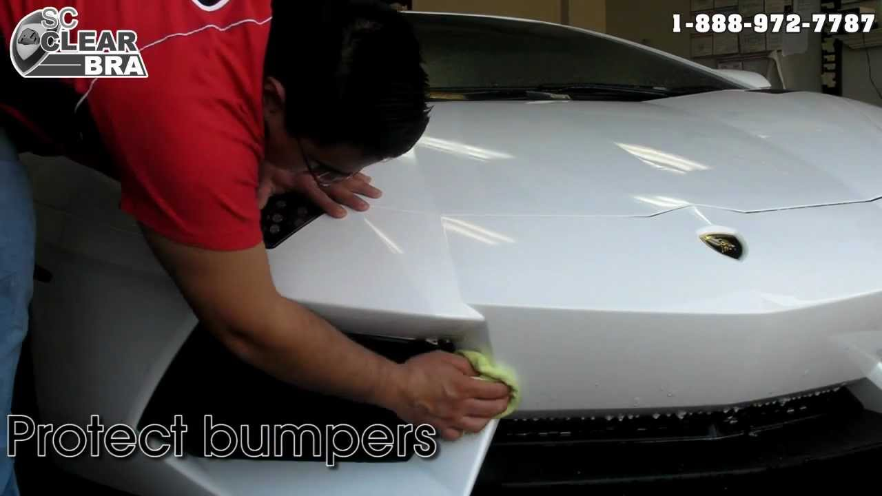 3m Clear Bra Paint Protection Film Demo Car Keyed Youtube
