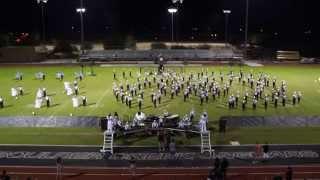 sandra day o connor high school marching band dvusd invitational 10 16 14