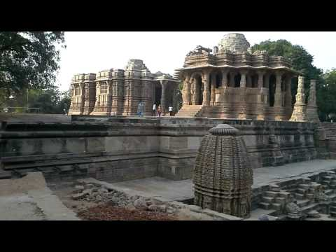Sun Temple of Modhera Gujarat  Incredible India
