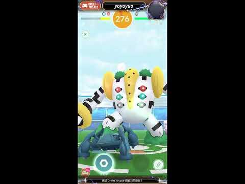 幸福PokemonGO|#雷吉奇卡斯5人成功#VIP頭目戰#如何捕捉丟球教學