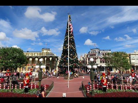 Christmastime In Early November At Walt Disney World Magic Kingdom