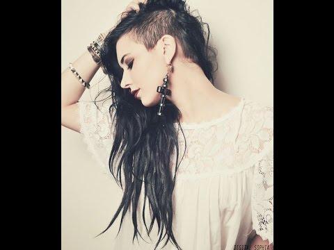 фото с выбритым виском женские стрижки