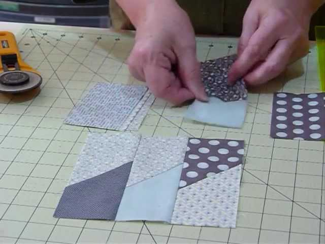 How To Make A Picket Fence Block Using 5 Squares Quilting Tips