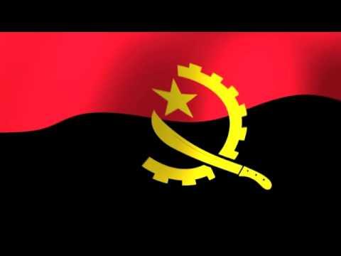 Angola Mpla Flag