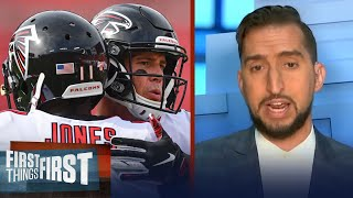 Nick reacts to Falcons trade rumors surrounding Matt Ryan & Julio Jones | NFL | FIRST THINGS FIRST