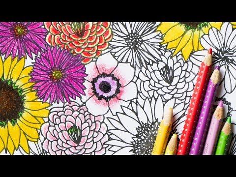 Blumen zeichnen -