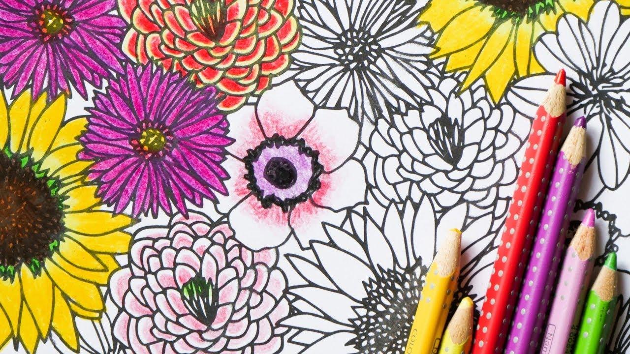 Blumen Zeichnen Schritt Fur Schritt Fur Anfanger Und Kinder