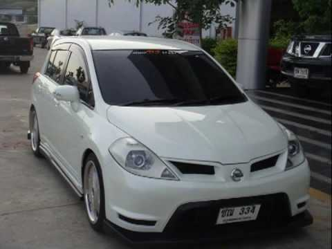 Nissan Tiida Versa Latio Tuned Youtube