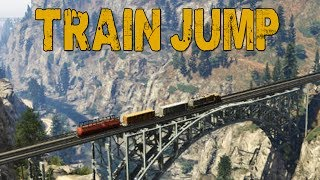 TRAIN JUMP! (GTA V Online w/ Nanners, Syndicate, & Firefox)