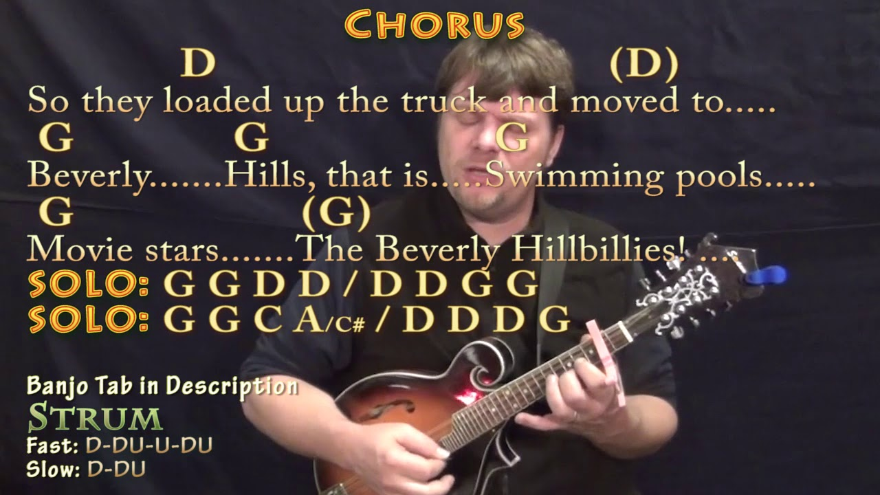 The ballad of jed clampett tv theme mandolin cover lesson with the ballad of jed clampett tv theme mandolin cover lesson with chordslyrics capo 2nd hexwebz Images