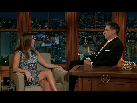 Late Late Show with Craig Ferguson 9/19/2012 Sophia Bush