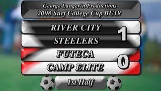 2008 11 28 RIVER CITY STEELERS  3  FUTECA CAMP  0  BU19 DW