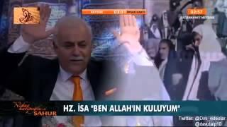 Nihat Hatipoglu - Sahur - Hz. Meryem ve Hz. isa (16.07.2014)
