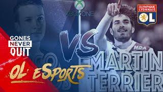 Le duel Fifa : CocoVBastos vs Martin Terrier | Olympique Lyonnais