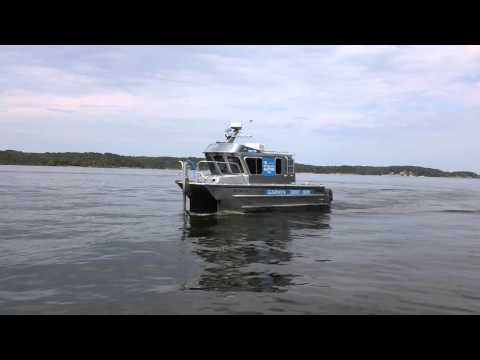 Garmin Survey Boat Mapping Blood River (Ky Lake)