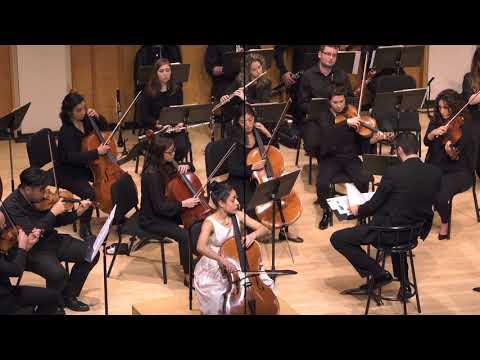 Laura Navasardian, cello - 2018 Kaufman Music Center Concerto Competition Winners' Concert