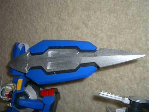 EXIA Gundam 1/60 model kit SILVER FINISH