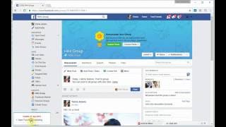 Facebook Marketing For Chrome  - How To Post Status To All Group