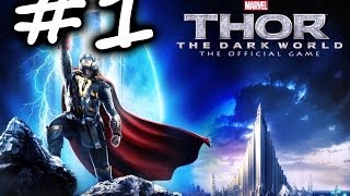Thor: The Dark World - The Official Game [Part 1] [Let's Play] [Gameplay] [HD]