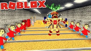 ESCAPE PLAYTIME'S ENDLESS JUMPROPE IN BALDI'S BASICS OBBY!! | The Weird Side of Roblox