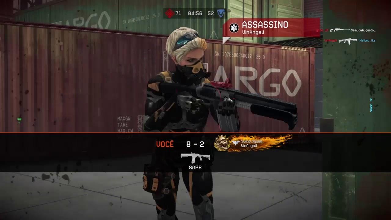 WARFACE PS4 - TESTANDO NOVA ARMA - THOMPSON M1928