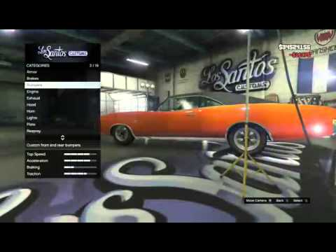 how to make the general lee in gta v youtube. Black Bedroom Furniture Sets. Home Design Ideas