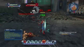 Dc universe online gameplay