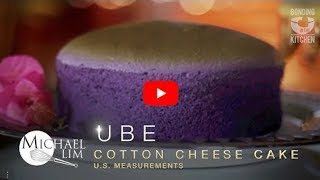 UBE Cotton Cheese Cake Michael Lim US Measurements