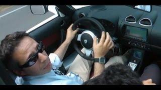 Tesla roadster sport test drive da HDmagazine.it