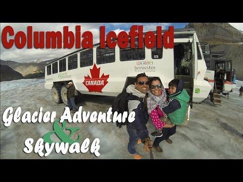 Columbia Icefields, Canada | Glacier Skywalk & Glacier Adventure | Felipe, o pequeno viajante