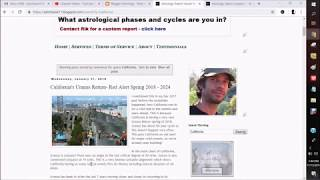 California WildFires - What does Astrology say? Astro insight, 1st hand knowledge & solutions