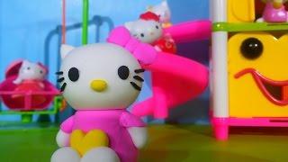 Видео с игрушками Горка для Хелло Китти из пластилина Hello Kitty modelling clay(Видео с игрушками Горка для Хелло Китти из пластилина Творчество для детей Hello Kitty modelling clay Сегодня на канал..., 2015-11-07T05:00:00.000Z)