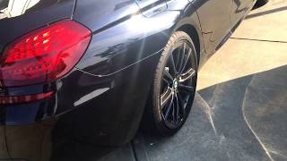 2016 BMW 650i Carbon Black, Exhaust, Interior.