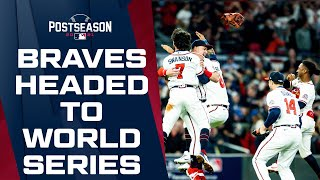 BRAVES WIN THE PENNANT! Atlanta completes the upset, beats the Dodgers to advance to World Series!