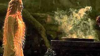Arwen, Legolas and Galadriel