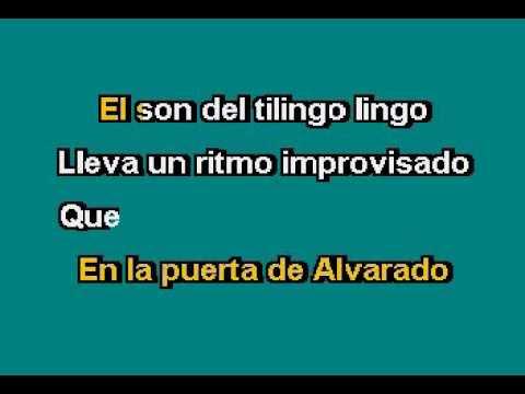 Lino Carrillo   El Tilingo Lingo Karaoke