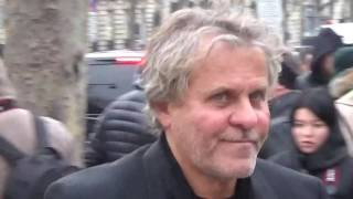 Renzo ROSSO / Diesel founder @ Paris Fashion Week 25 january 2017 show Victor & Rolf / Janvier #PFW