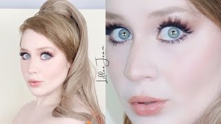 Kim Kardashian Inspired Wearable Soft Glam Makeup Tutorial 2021 | Lillee Jean