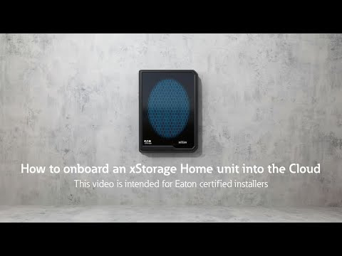 How to onboard xStorage Home into the Cloud